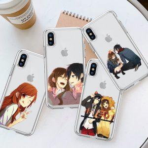 Miyamura Izumi Horimiya anime clear phone case For iphone 6 6s 6Plus 6SPlus 7 8 7Plus - Horimiya Merch Store