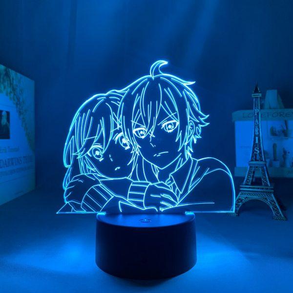3d Led Light Anime Hori San To Miyamura Kun for Bedroom Decor Night Light Kids Brithday 2 - Horimiya Merch Store