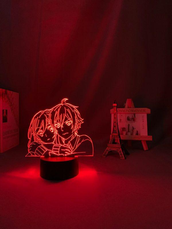 3d Led Light Anime Hori San To Miyamura Kun for Bedroom Decor Night Light Kids Brithday 3 - Horimiya Merch Store