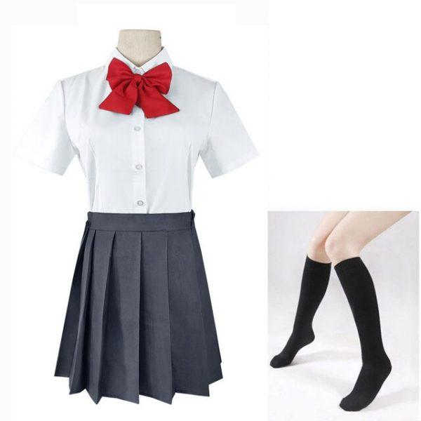 Anime Hori san to Miyamura kun Horimiya Miyamura Izumi Hori Kyoko Cosplay Costumes High School Uniform 3 - Horimiya Merch Store