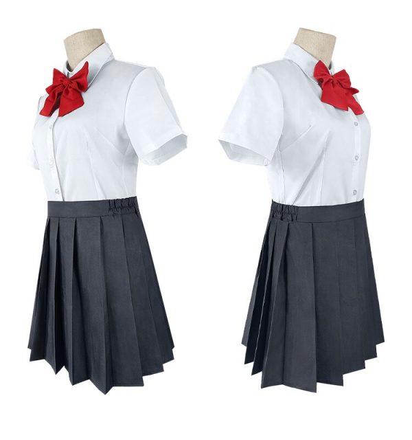 Anime Hori san to Miyamura kun Horimiya Miyamura Izumi Hori Kyoko Cosplay Costumes High School Uniform 4 - Horimiya Merch Store