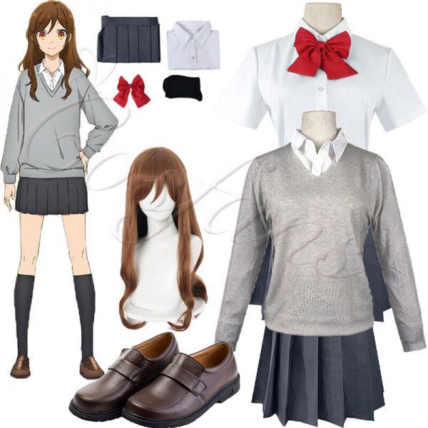 Anime Hori san to Miyamura kun Horimiya Miyamura Izumi Hori Kyoko Cosplay Costumes High School Uniform - Horimiya Merch Store