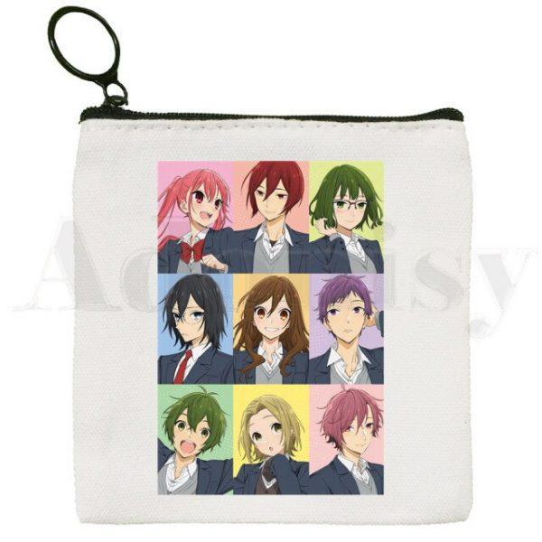 Horimiya Hori San To Miyamura Kun Anime Cartoon Bag Coin Purse Storage Small Bag Card - Horimiya Merch Store
