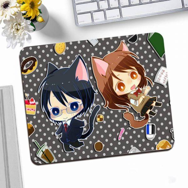 Horimiya Office Mice Gamer Soft Mouse Pad Desktop Mousepad Gaming Small Mouse Pad 25X20CM Keyboard Mat 1 - Horimiya Merch Store