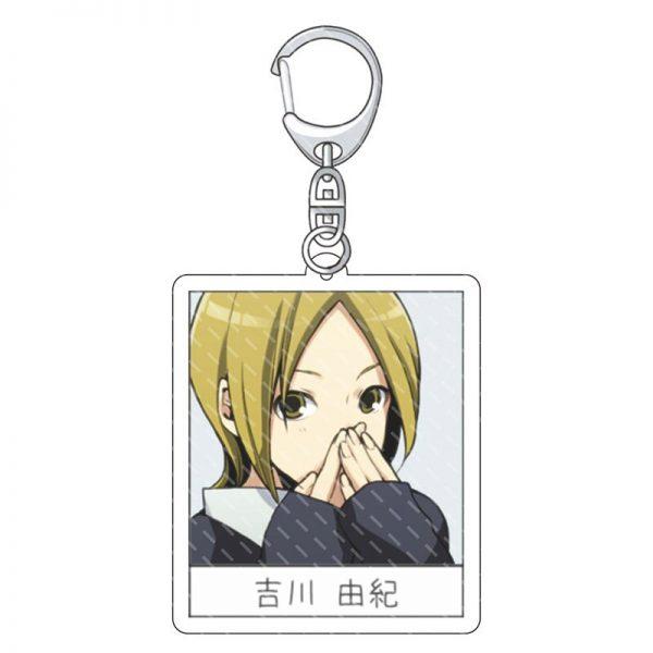Hot Anime Keychains Accessories Horimiya Hori san to Miyamura kun Hori Kyouko Miyamura Izumi Acrylic Pendant 5 - Horimiya Merch Store