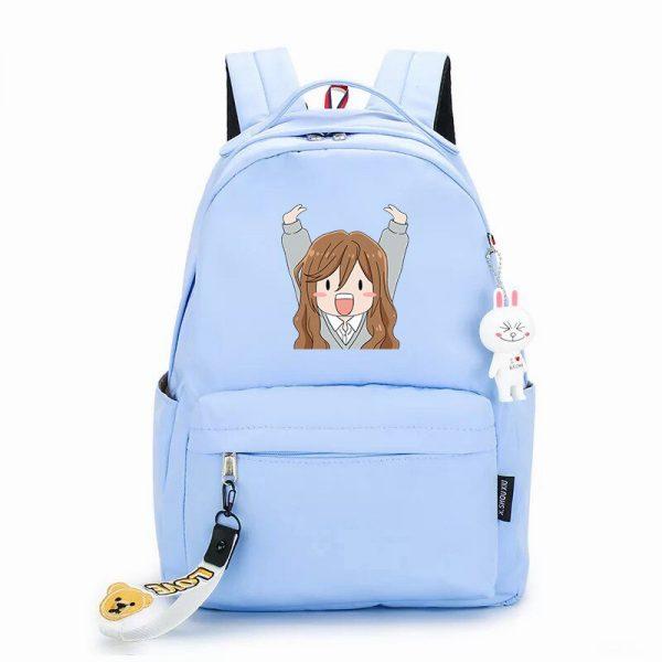 Hot Sale Horimiya Cosplay Bag Miyamura Izumi Hori Kyouko Anime Peripheral Student Fashion Casual Schoolbag 4 - Horimiya Merch Store