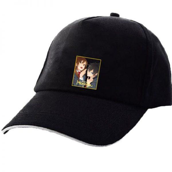 Japanese Anime Hori san to Miyamura kun Horimiya Cosplay New Style Pink Hats Fashion Cap Black 2 - Horimiya Merch Store