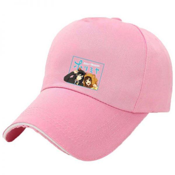 Japanese Anime Hori san to Miyamura kun Horimiya Cosplay New Style Pink Hats Fashion Cap Black 3 - Horimiya Merch Store