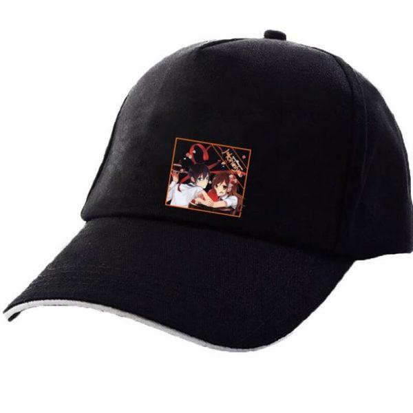 Japanese Anime Hori san to Miyamura kun Horimiya Cosplay New Style Pink Hats Fashion Cap Black - Horimiya Merch Store