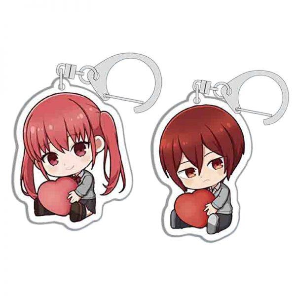 Anime Keychains Accessories Horimiya Hori San To Miyamura Kun Hori Kyouko Miyamura Izumi Acrylic Pendant Key 1 - Horimiya Merch Store