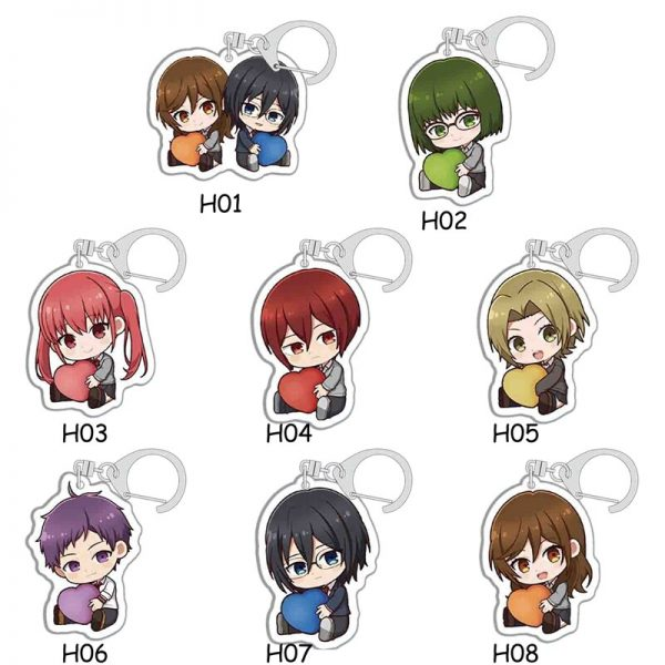 Anime Keychains Accessories Horimiya Hori San To Miyamura Kun Hori Kyouko Miyamura Izumi Acrylic Pendant Key - Horimiya Merch Store