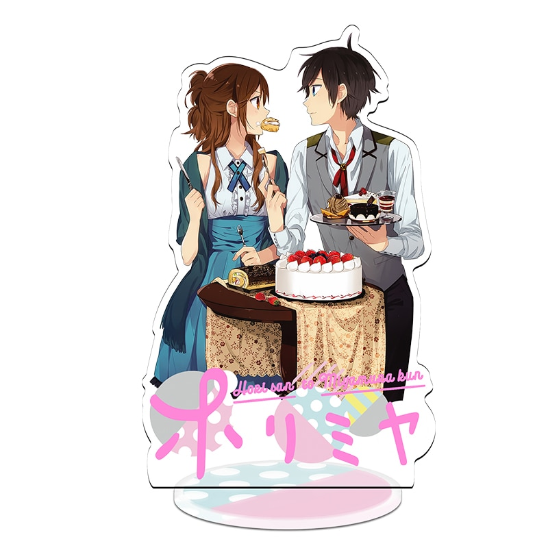 Anime Horimiya 21cm Acrylic Stand Sign Horimiya Hori-san to Miyamura-kun Stand Figure Model Display Plate Desktop Decor Keychain